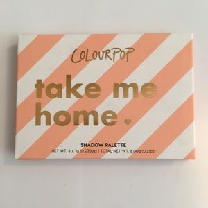 COLOURPOP TAKE ME HOME EYESHADOW PALETTE